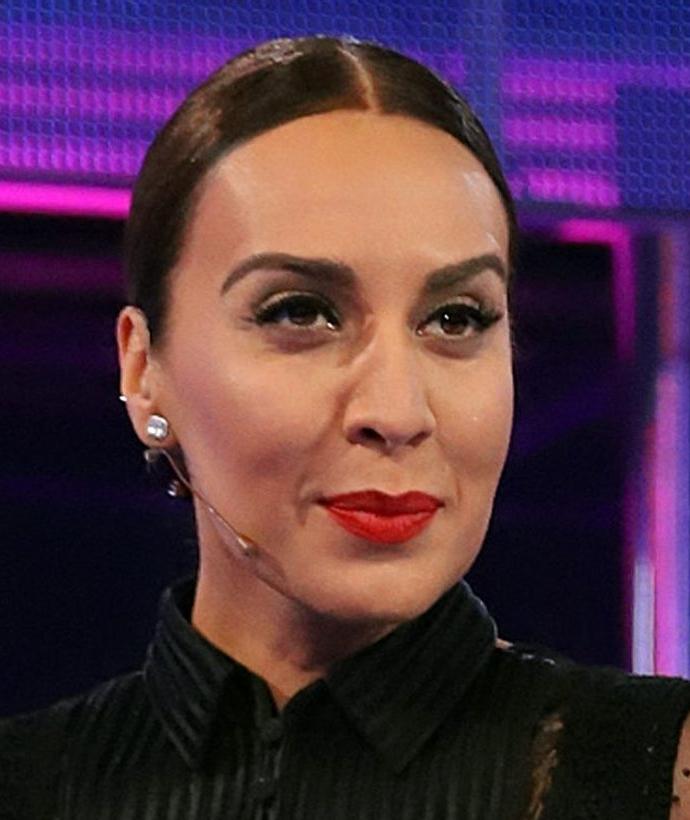 La cantante de 44 años se mostró como Dios la trajo al mundo